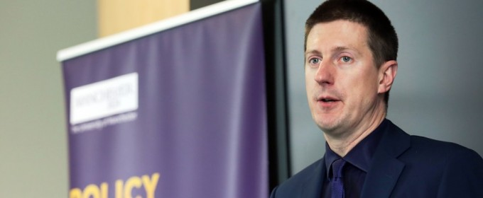 Robert Chote at Policy@Manchester event