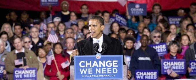 Barack Obama campaign talk