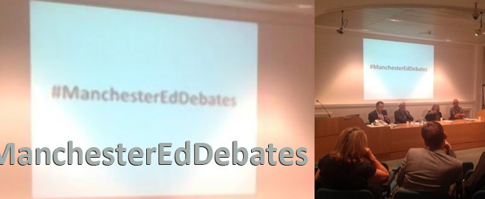 The first Manchester Education Debate