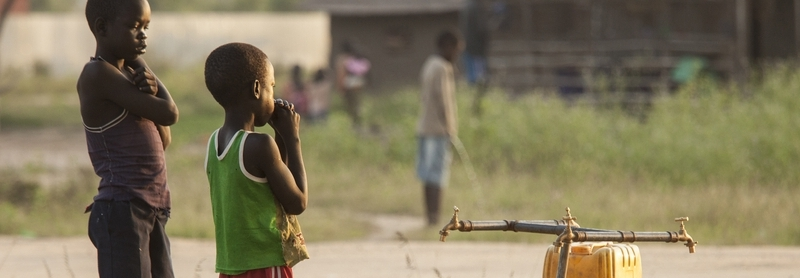 Today's global poverty is down to the way we run the world